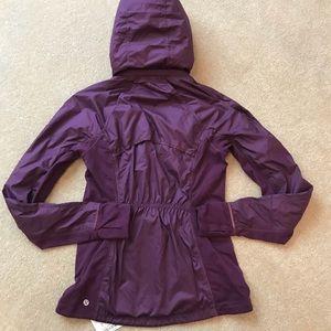 New lululemon Rulu Jacket darkest magenta